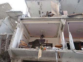 В пригороде Дамаска при бомбежке погибли десять детей