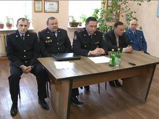 В Краснинском районе назначен новый начальник полиции