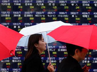 Японию охватила пятая за последние 15 лет рецессия
