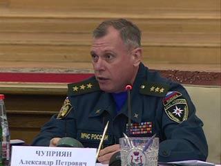 В Смоленск прибыл замминистра МЧС Александр Чуприян