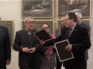 В Смоленском Доме художника открылась юбилейная выставка Геннадия Намеровского