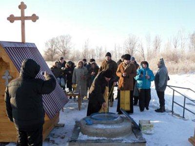 Воду в восстановленном под Гагарином источнике признали лучшей в округе