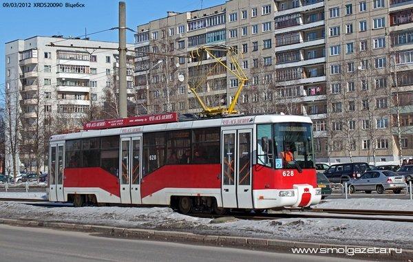 В Смоленск приехал новый трамвай