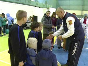 В Смоленске прошла спартакиада для работников силовых структур и детей