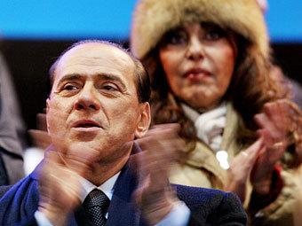 Берлускони обязали платить бывшей жене по 100 тысяч евро в день