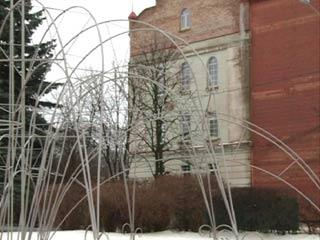 Смоленский музыкальный фонтан отправился на зимовку