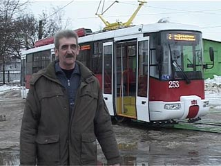 В Смоленске на линию вышел новый трамвай
