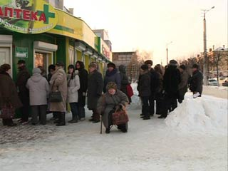 В Смоленске снова появились очереди в аптеке