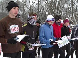 В Смоленске впервые в новом году прошли старты по спортивному ориентированию