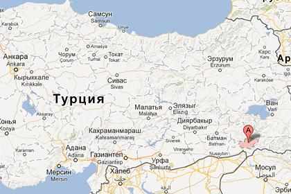 В Турции оползень накрыл футбольный стадион