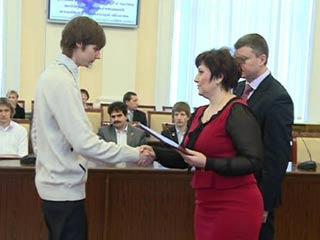 Талантливую молодежь в Смоленске поздравили с днем студента