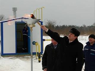 В Глинковском районе газ провели еще в одну деревню