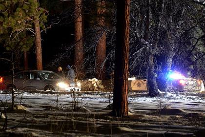 Полиция отвергла обвинения в поджоге хижины охотника за полицейскими