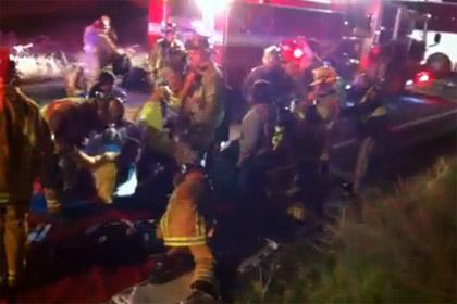 В аварии в Калифорнии погибли восемь человек
