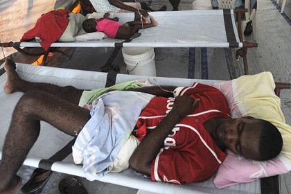 ООН отказалась платить Гаити за эпидемию холеры