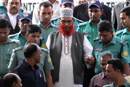 В Бангладеш лидера исламистов приговорили к смерти