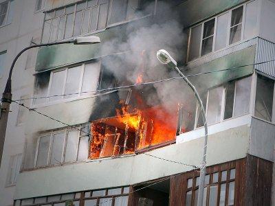 В один день в Кардымовском районе тушили два пожара