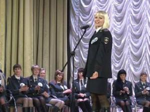 Смоленские девушки в форме соревнуются в конкурсе «Мисс Полиция 2013»