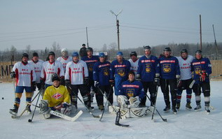 Хоккейный матч прошел в смоленской ИК №2