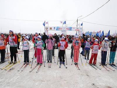 Смоленскую «Лыжню России» непогода не остановила