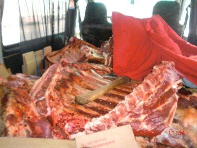 Белорусы незаконно ввезли на Смоленщину более тонны мяса