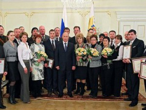 Путин вручил награду руководителю смоленских поисковиков