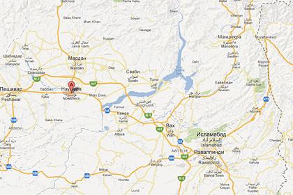 В Пакистане взорвали лагерь беженцев
