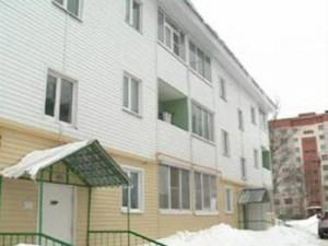 Возведенная по канадской технологии трехэтажка не выдержала русских холодов