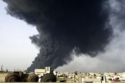 Власти Сирии обвинили повстанцев в поджигании нефтяных скважин