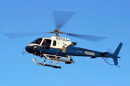 На Аляске разбился полицейский вертолет