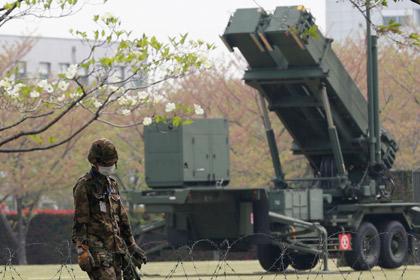 В центре Токио разместили противоракетные комплексы Patriot