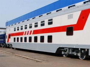 Из Москвы в Смоленск запустят двухэтажные поезда