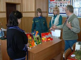 Смоляне приняли участие в творческом конкурсе на противопожарную тему