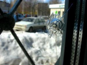 Ехавший по улице Крупской «пазик» внезапно воспламенился и полностью сгорел