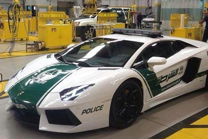Дубайская полиция пересела на «Ламборгини»