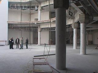 Строительство культурно-выставочного центра в Смоленске близится к завершению