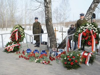 В Смоленске почтили память жертв крушения польского борта № 1