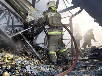 Хозяйка объятого огнем жилища чуть не погибла, спасая ценности