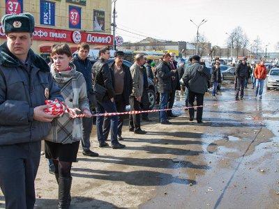 Последствия аварии на Колхозке устранили к восьми часам вечера 11 апреля