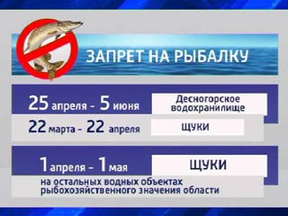 На Смоленщине вступил в силу запрет на сезонный лов рыбы