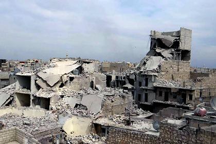 В Сирии при авианалетах погибли 25 человек
