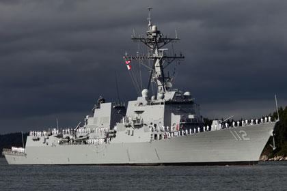 США разместили эсминец у берегов Кореи