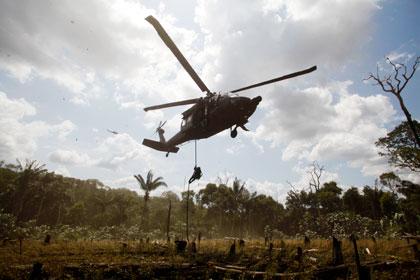 У границы КНДР разбился американский вертолет