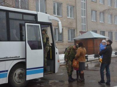 Десятерых смоленских собровцев проводили в командировку на Северный Кавказ