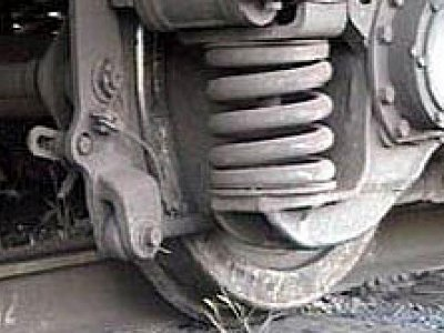Грузовой вагон сошел с рельсов в Смоленской области