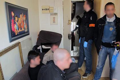 В Париже арестовали банду грузинских грабителей