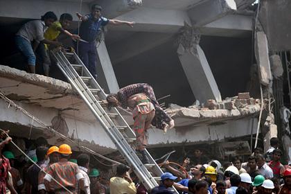 Жертвами обрушения дома в Бангладеш стали более 170 человек
