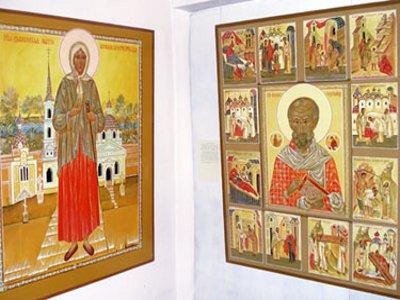 Демидовский иконописец представил работы для восстанавливающегося собора