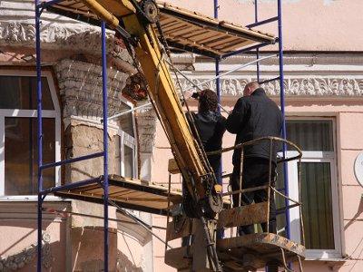 В Смоленске начинается масштабный ремонт фасадов и кровель