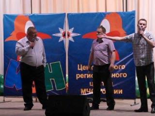 Смоленские спасатели приняли участие в юбилейных играх КВН